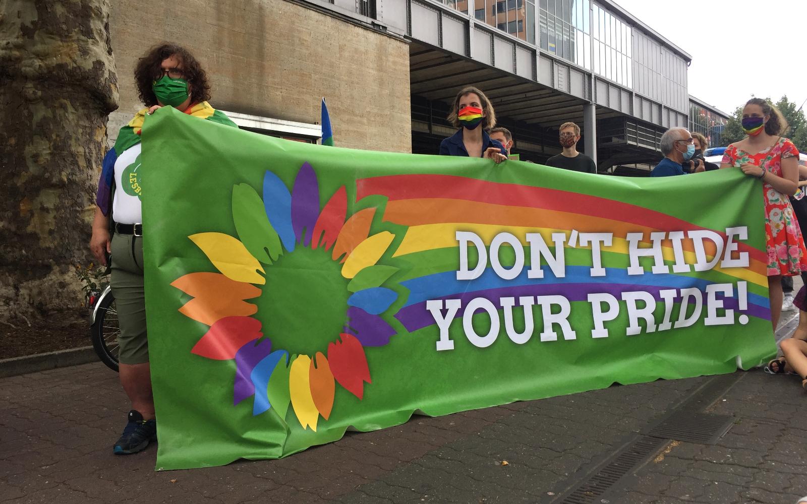 QueerGrüne CSD-Tour: Lambdas Redebeitrag