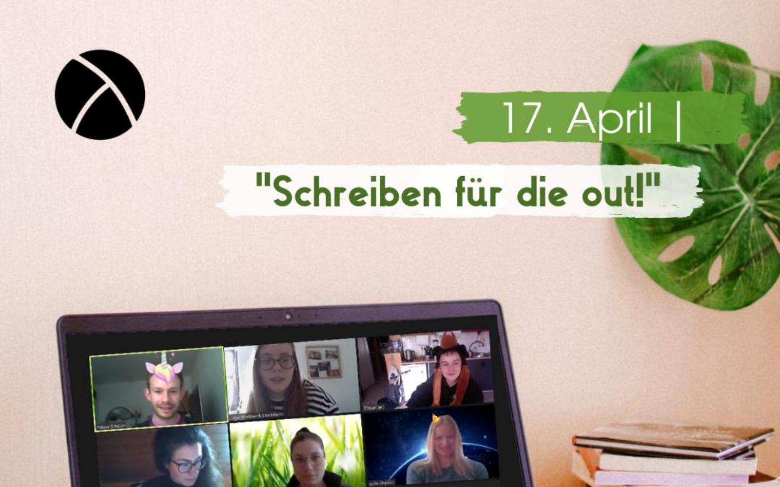 """Workshop: """"Schreiben für die out!"""""""